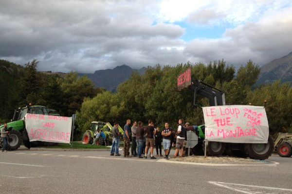 Les agriculteurs et les éleveurs prêts à bloquer Gap suivant l'issu de la réunion de ce soir en préfecture