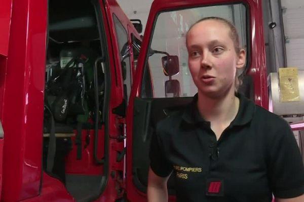 Myriam Chudzinski, sapeur-pompier à Paris