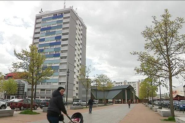 Le quartier de la Madeleine à Evreux compte 15 000 habitants.