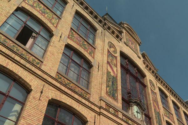 La façade art déco de la Hear à Strasbourg