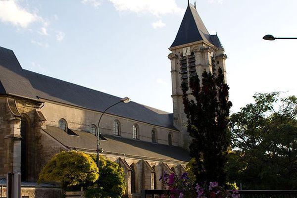 L'Eglise Saint-Cyr Sainte-Julitte, à Villejuif, était la cible d'un attentat projeté par Sid Ahmed Ghlam en avril 2015.