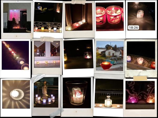 Les lumignons se sont allumés au soir du 8 décembre