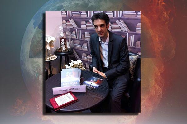 Yannick Monget au Salon du livre de Paris