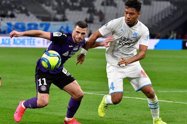 Quentin Boisgard évoluait au Toulouse FC la saison passée. Le milieu de terrain portera le maillot des Merlus pour quatre saisons