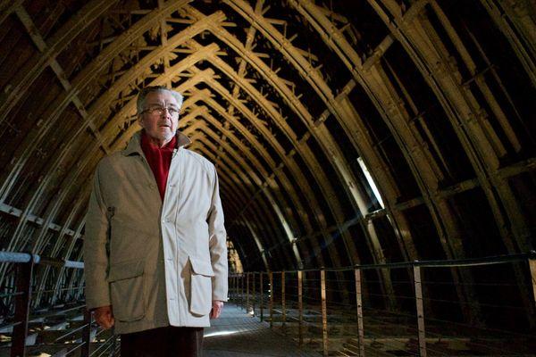 Patrick Demouy, historien spécialiste de la cathédrale de Reims