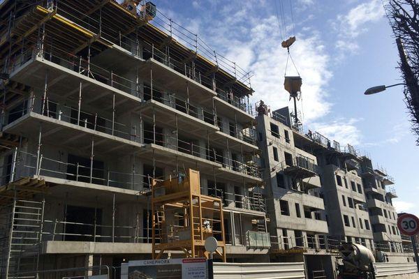 Construction avenue de Moka à Saint-Malo