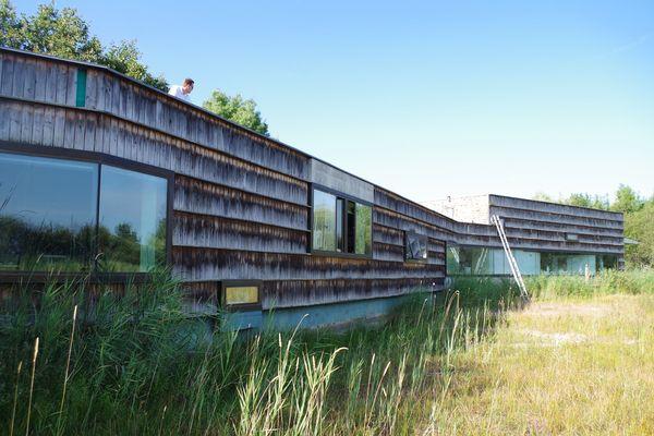 La maison de la Nature dans la réserve de Chérine
