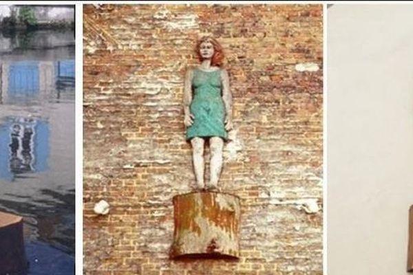 Les trois statues du quartier Saint-Leu vont retrouver leurs emplacements les 24 et 23 mai prochain.