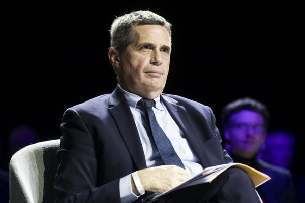 Nicolas Bonneau, maire de la Chapelle-Saint-Mesmin (Loiret), au congrès des maire à Paris, en novembre 2019