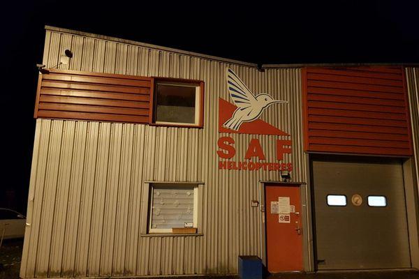 Les locaux du SAF à Tournon (Savoie)