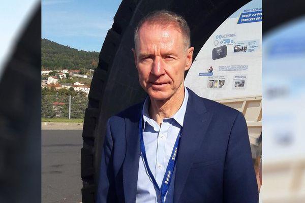 Dorian Defache est le nouveau directeur du site Michelin de Blavozy.