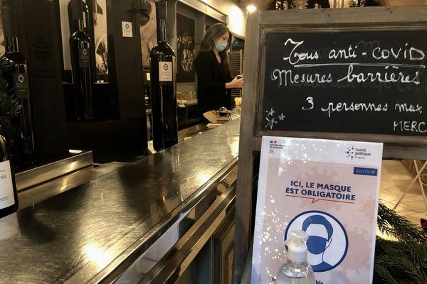 La boutique du couple de producteurs de vins est désormais prête à accueillir les clients, dans le centre-ville de Bastia.