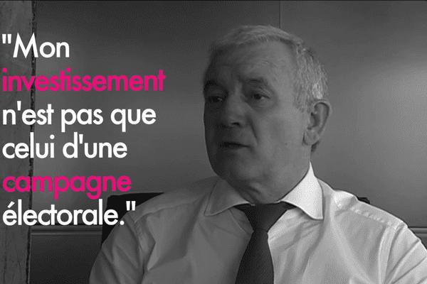 François Orlandi, président du Conseil départemental de Haute Corse