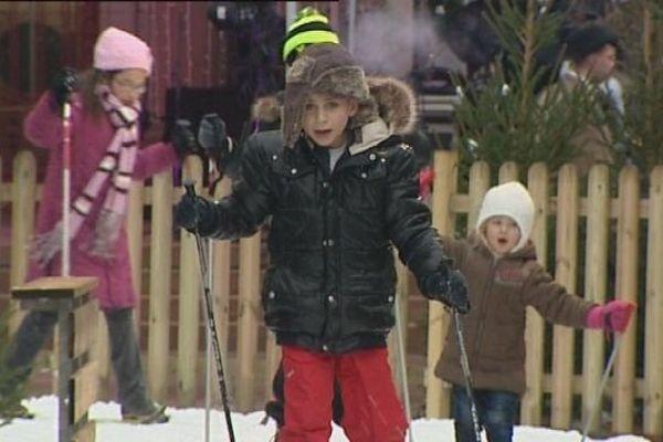 Une piste de ski ... à Belfort !