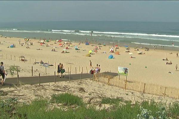 La plage est l'une des plus prisées grâce à sa proximité avec Bordeaux.