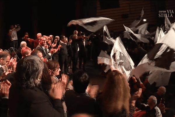 Territoriales – En meeting mercredi soir à Ajaccio, Pè a Corsica fête déjà sa victoire annoncée