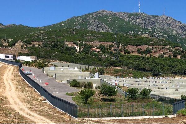 A Bastia, le cimetière de l'Ondina a été livré dans sa totalité en février 2014.