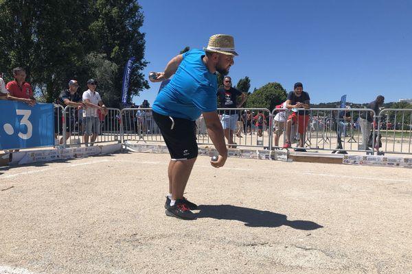 Mayron Baudino a réussit tous ses tirs dans ce 5e tour.