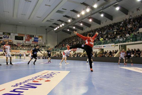 L'USDK contre Magdebourg, en coupe EHF, avril 2012