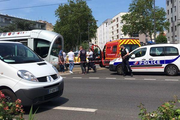 Une jeune femme aurait été renversée par un tramway sur la ligne T4 à Lyon, mercredi 19 juin.