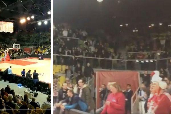 Confinés pendant plusieurs heures, les spectateurs du Rhenus ont entonné une Marseillaise en hommage aux victimes de la fusillade de Strasbourg.