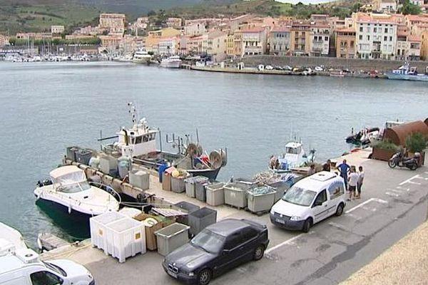 Port-Vendres (Pyrénées-Orientales) - le port - août 2016.