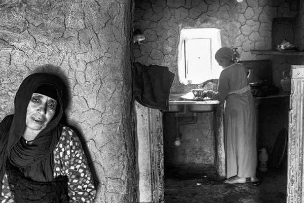 Les femmes berbères dans leur quotidien marocain.