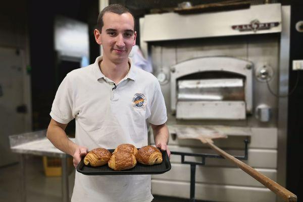 Dimitri Bordon est rentré en pré apprentissage à 14 ans avant d'intégrer en 2017 la Maison Beauhaire, à Léguevin.
