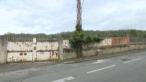 La friche industrielle de Sallandrouze à Aubusson