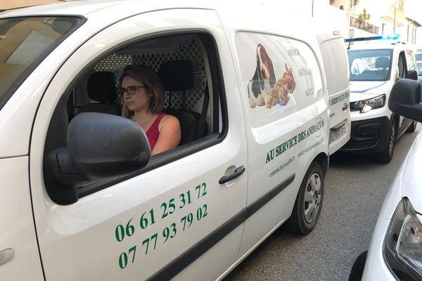 Une association a été mandatée pour récupérer le chien resté dans l'appartement du couple, un cane corso.