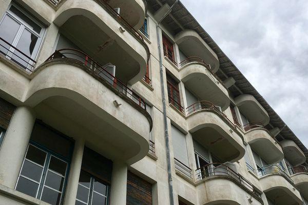 Les balcons des chambres