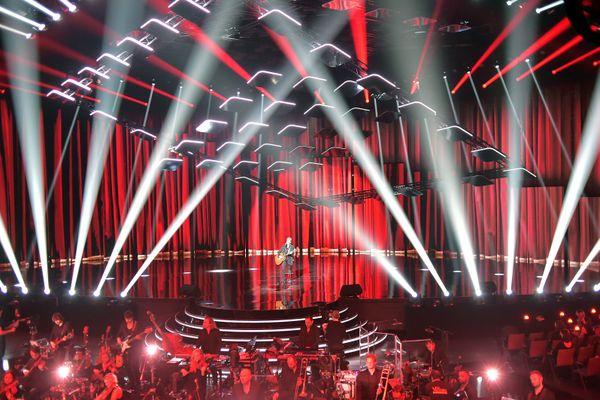 36e édition des Victoires de la musique : sur scène, Jean-Louis Aubert Président d'honneur de la Cérémonie