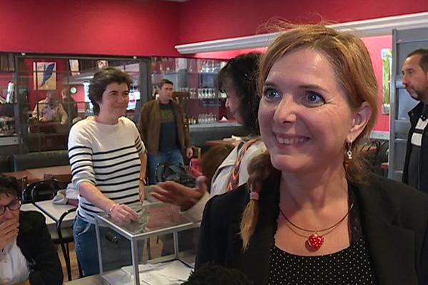Clotilde Ollier EELV , candidate a été désignée à l'issue de la primaire organisée par EELV pour être tête de liste aux municipales de Montpellier.