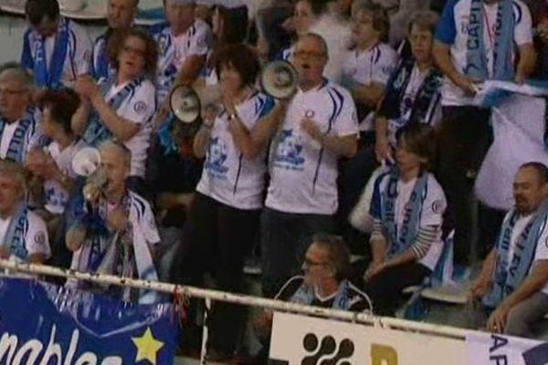 Des supporters lors du match Tours-Nantes, le 11 novembre 2014
