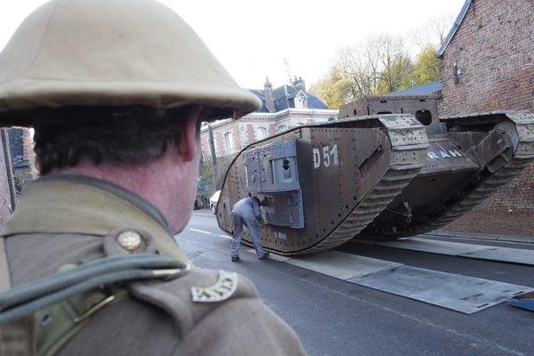 Réplique du Tank Déborah de la Bataille de Cambrai