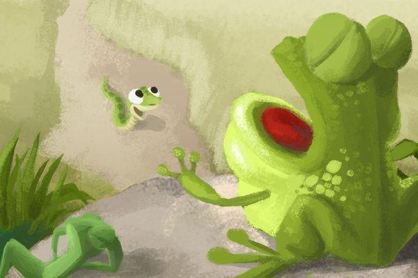 Zwingui-Zwingui est un petit serpent qui n'aime pas son corps, ni son sort....