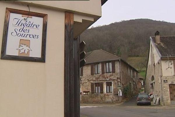 Nans-sous-Sainte-Anne : le théâtre des sources