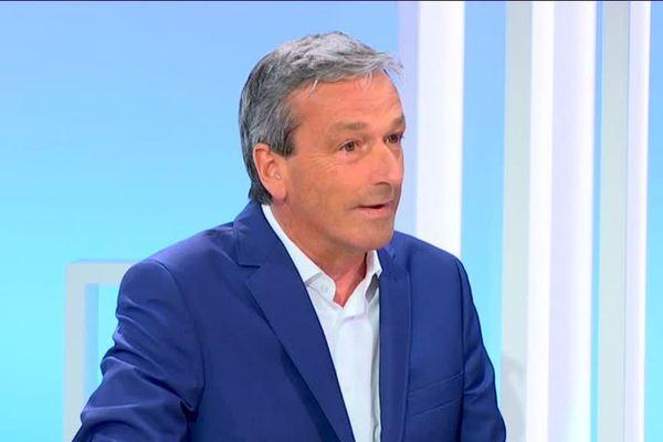 Philippe Vigier invité du 19/20 lundi 4 juin 2018 - © France 3 Centre Val de Loire