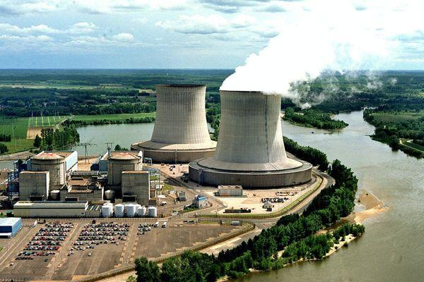 La centrale nucléaire de Saint-Laurent-des-Eaux, dans le Loir-et-Cher.