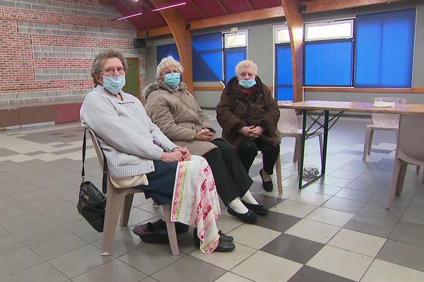 Trois dames ont été évacuées de leur logement par les secours, vendredi 29 janvier 2021, à Auchy-lès-Hesdin.