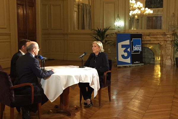 Interview de Marine Le Pen