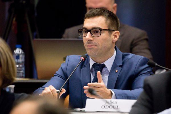 Julien Odoul, en décembre 2018.