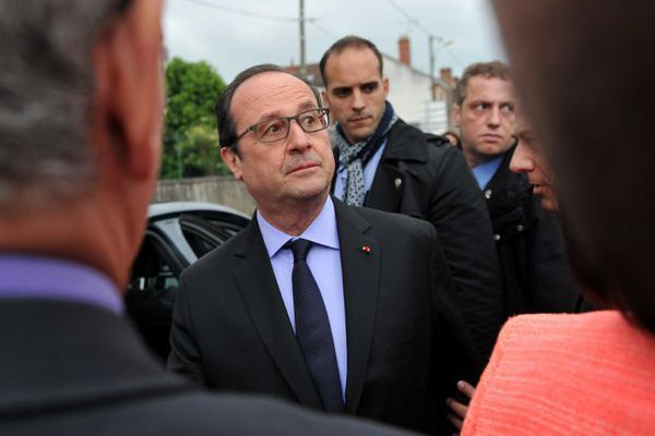 François Hollande, le 4 mai 2016.