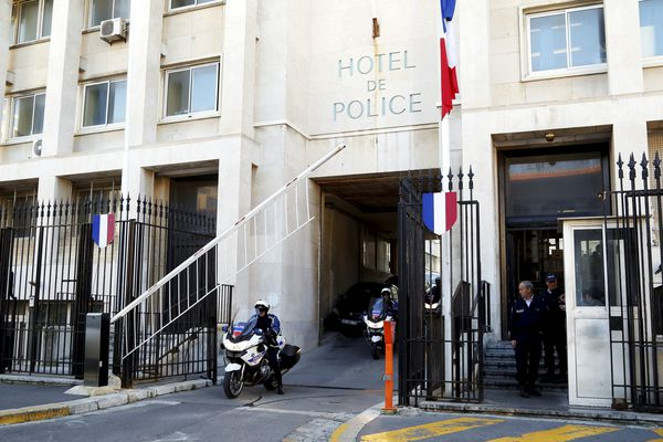 L'Hôtel de police de Marseille