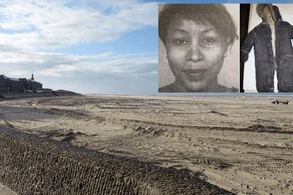 La plage de Berck où Adélaïde a été retrouvée.