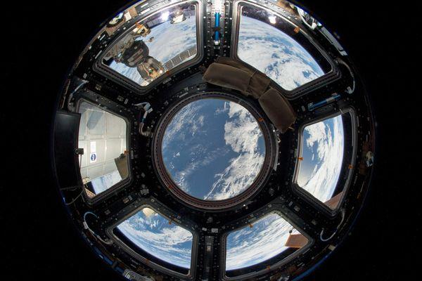 Vue de la Terre depuis la Station Spatiale Internationale