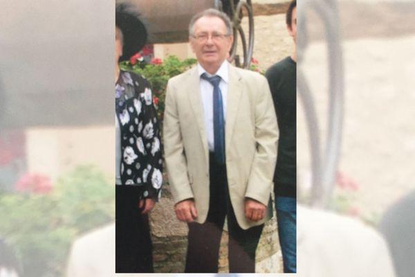 Albert Gicquel a disparu le dimanche 13 décembre à Thouaré-sur-Loire, près de Nantes