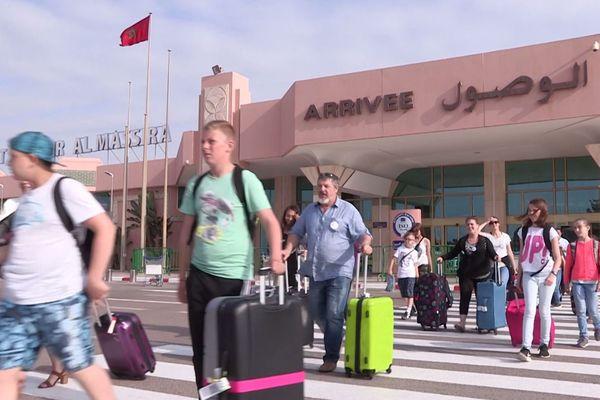 Arrivée des jeunes Isariens à Agadir au Maroc