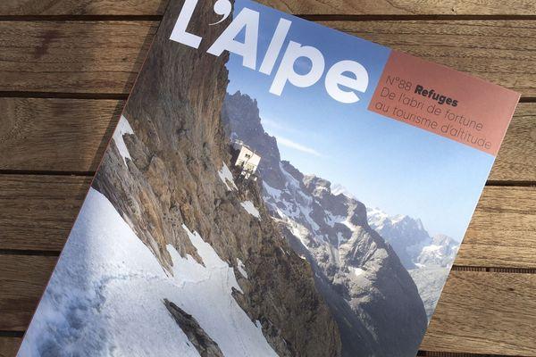"""N°88 de la revue l'Alpe """"Refuges"""""""