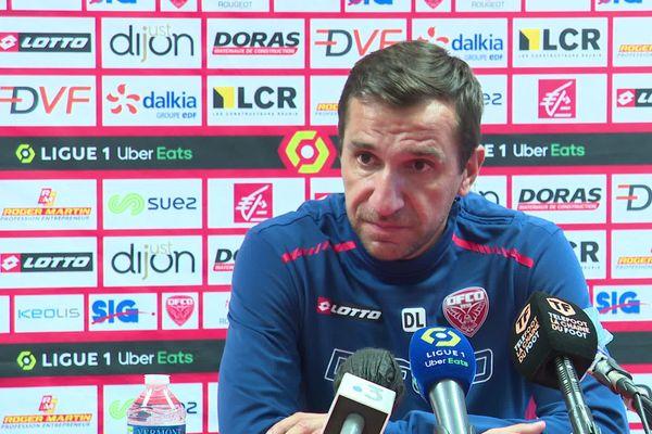 David Linarès, l'entraîneur du DFCO.